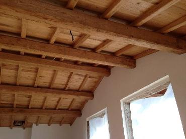 ... cassettoni, controsoffitti e cassettonato in legno di castagno