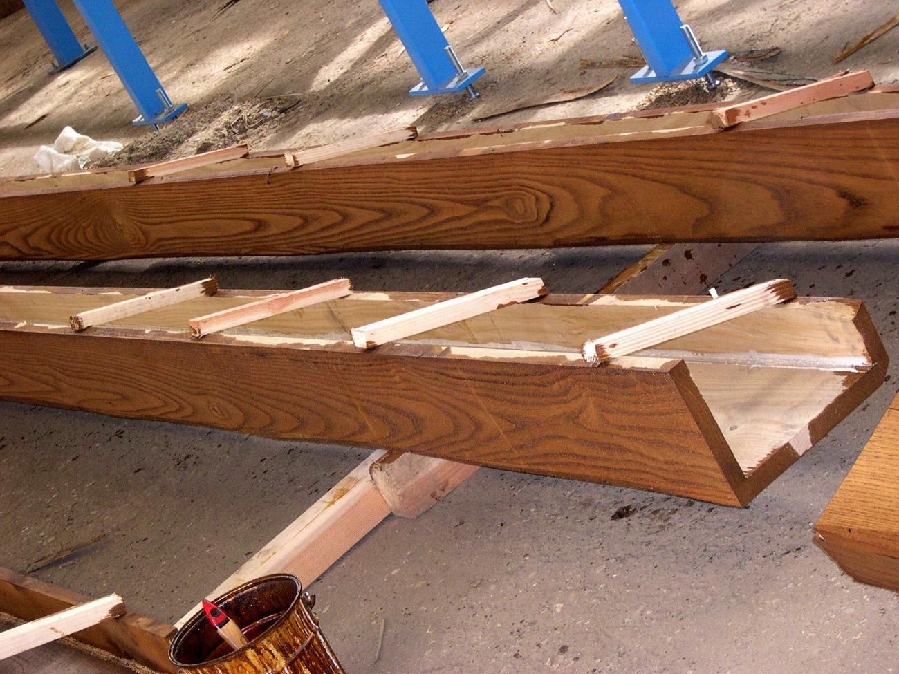 copri travi in legno