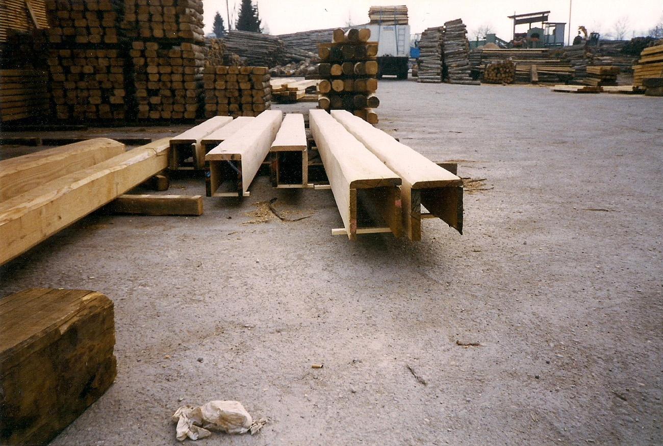 Travi finte in polistirolo prezzi ispirazione design casa for Copri travi finto legno